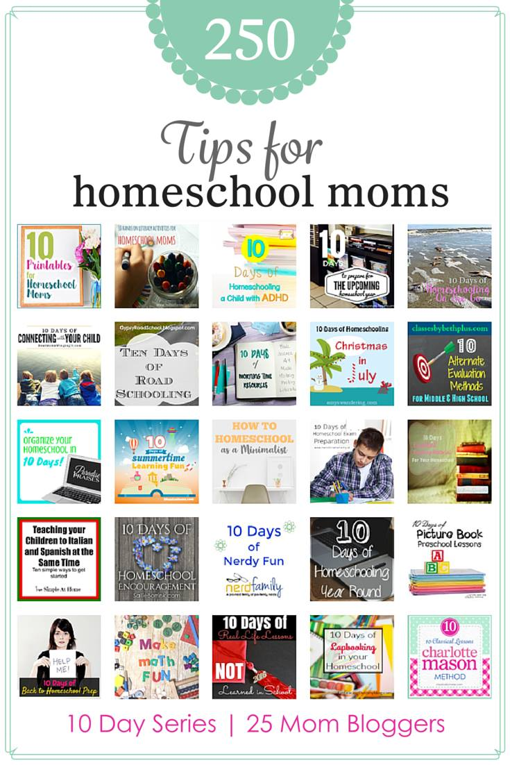 "Are your kids ready for ""real life?""  Prepare them with the lessons in this 10 day series!  Plus there are 24 other mom's contributing to the Tips for Homeschool Moms series!  Check it out!-  DaytoDayAdventures.com"