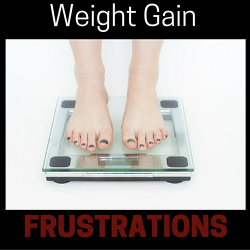 Weight Gain Frustrations on THM