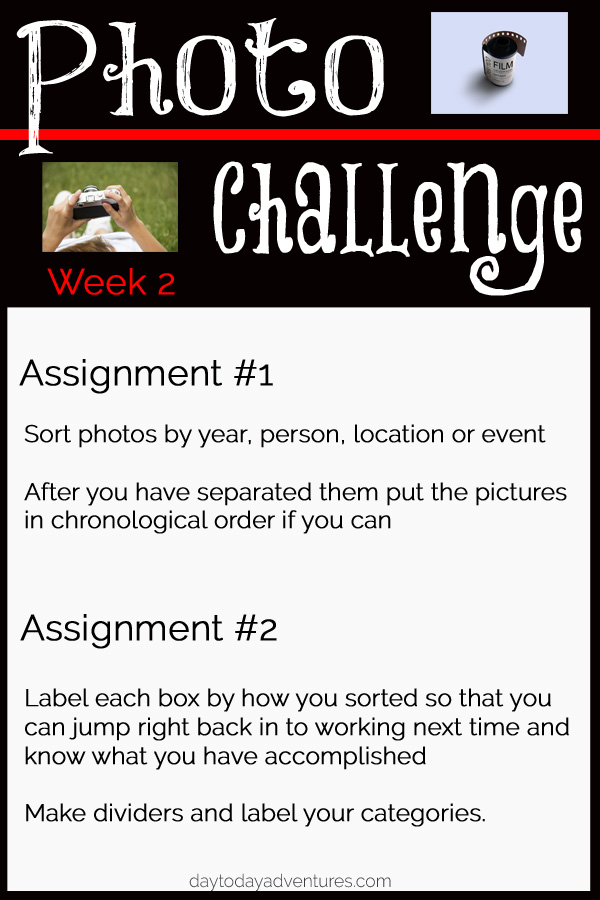Photo Challenge week 2 - DaytoDayAdventures.com