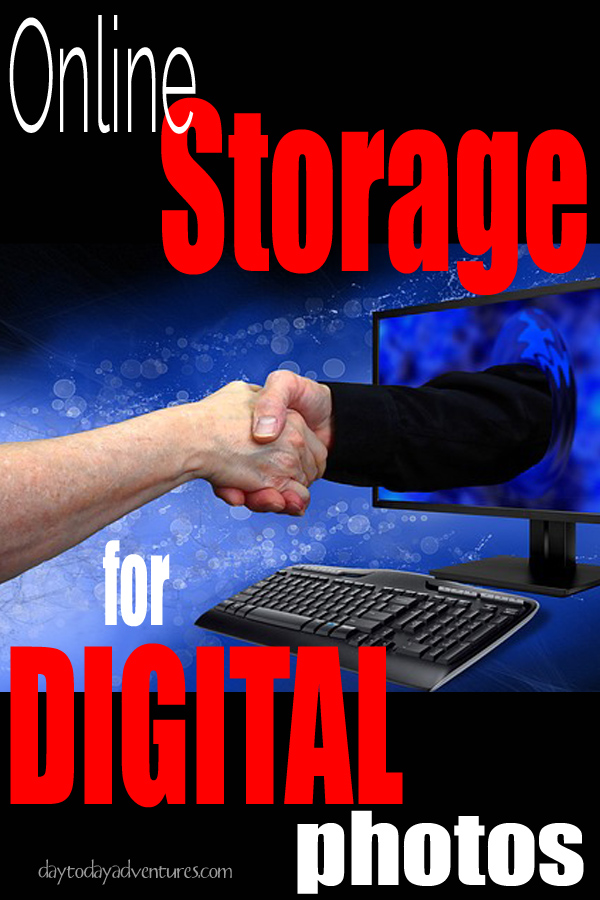Photo Challenge Week 7 Online Storage options for Digital Photos  - DaytoDayAdventures.com