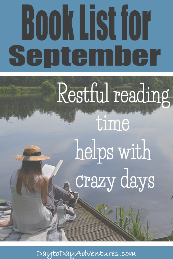 Take some restful reading time to refresh your mind and soul to help balance out the crazy days we all have - DaytoDayAdventures.com