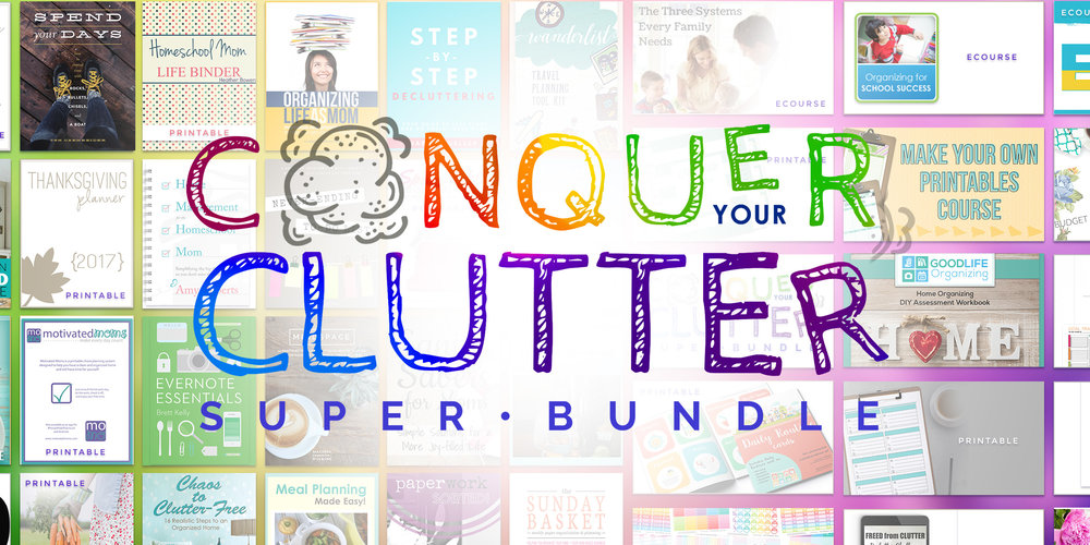 Will you conquer your clutter in 2017? - Dayto DayAdventures.com
