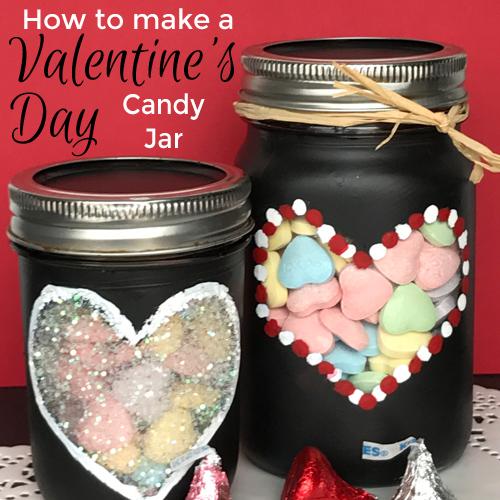 How to make Valentine's jar
