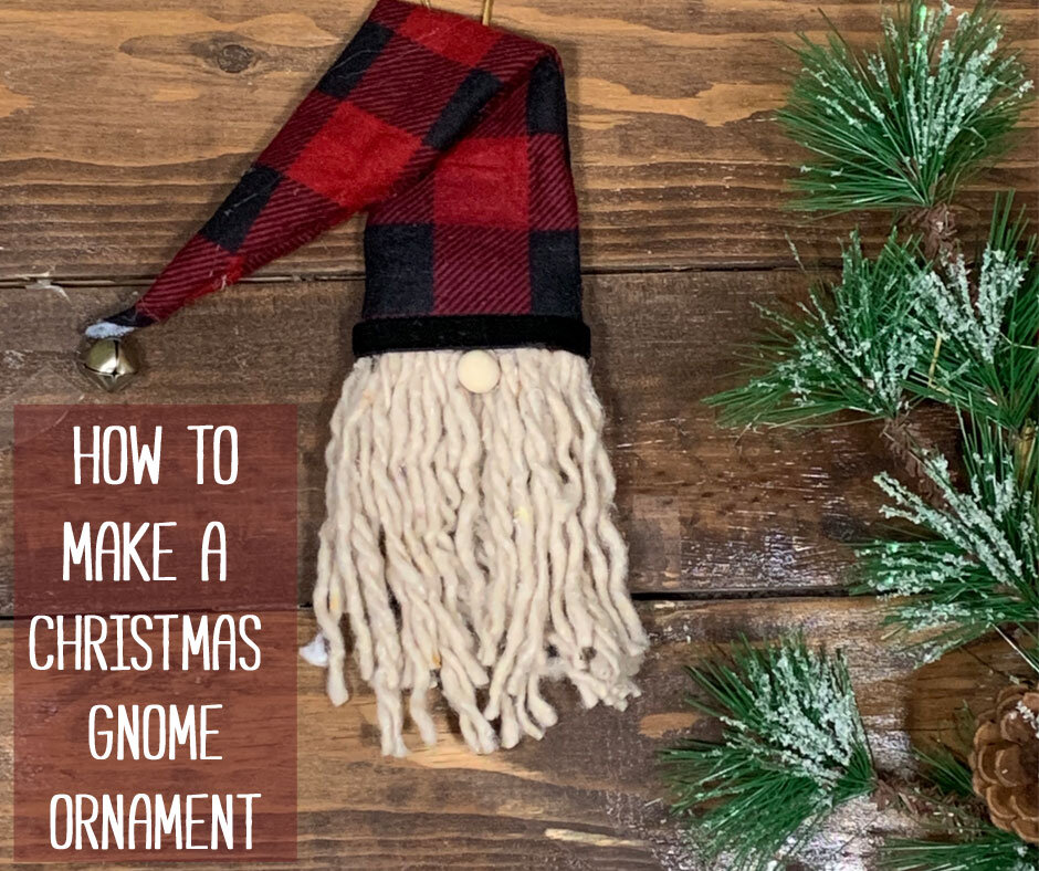How To Make An Easy Diy Gnome Christmas Ornament Day To Day