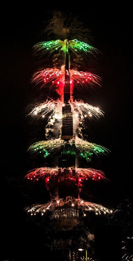 """New Year at Burj Khalifa"" by Najam Ansari"
