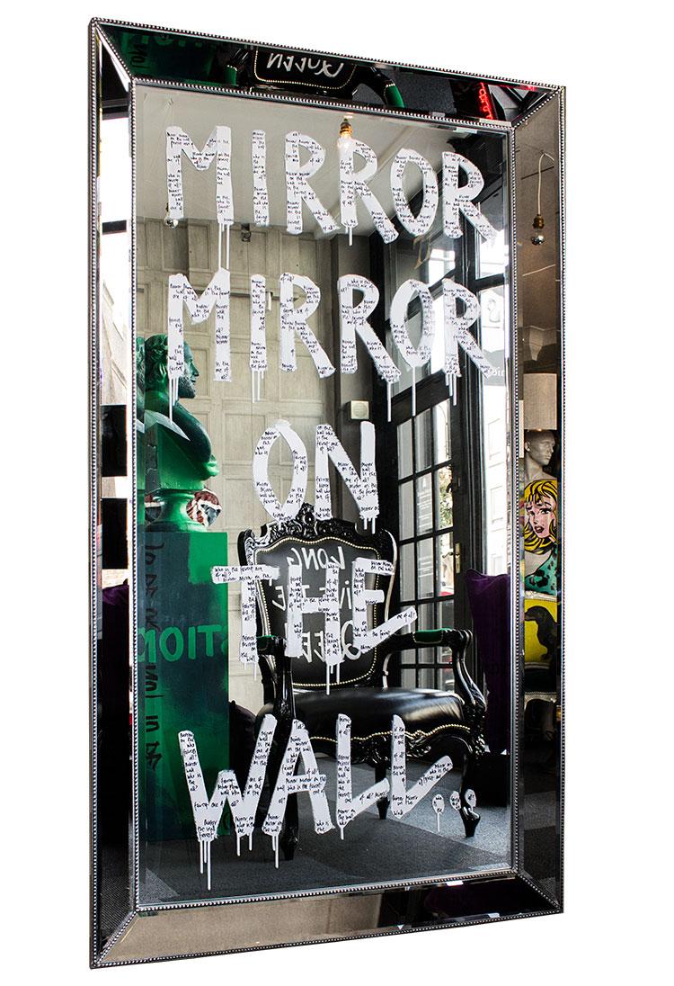 """""""Mirror Mirror on the wall white"""""""
