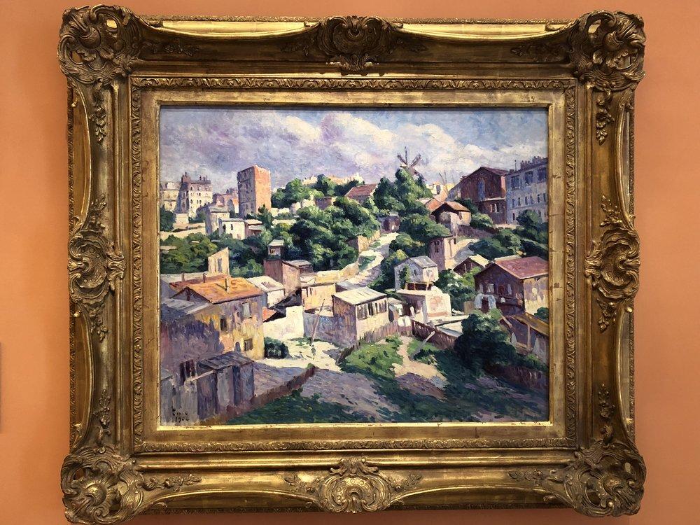 Maximillien Luce  Thicket, Montmartre, 1904