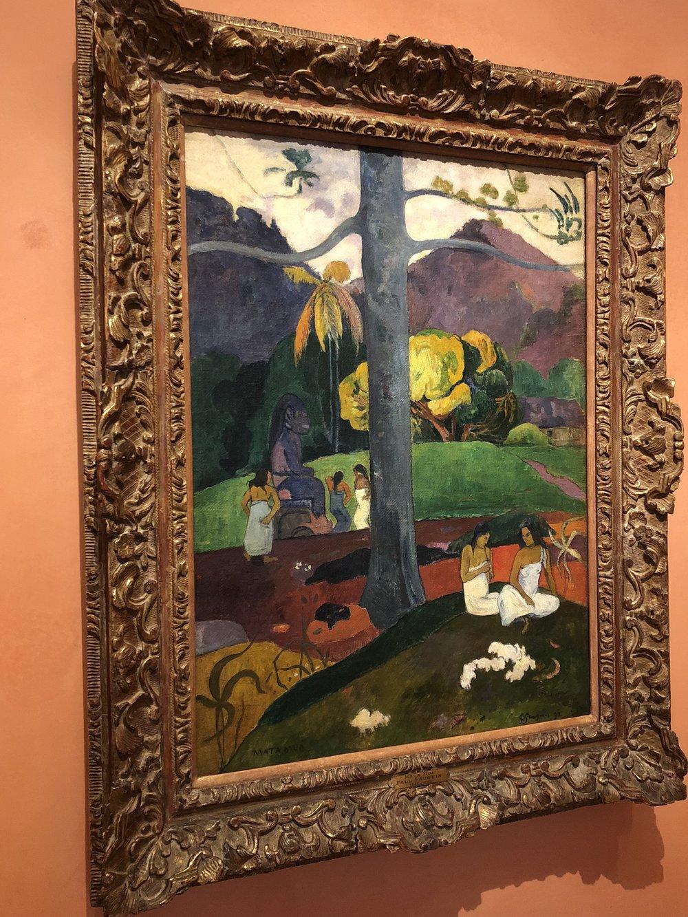 Paul Gauguin  Mata Mua (In Olden Times), 1892