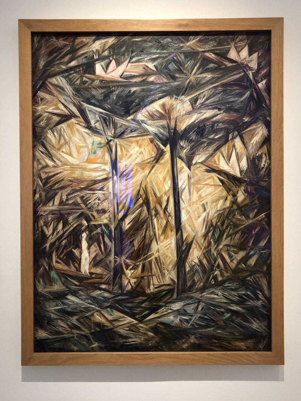 Natalia Goncharova  The Forest, 1913
