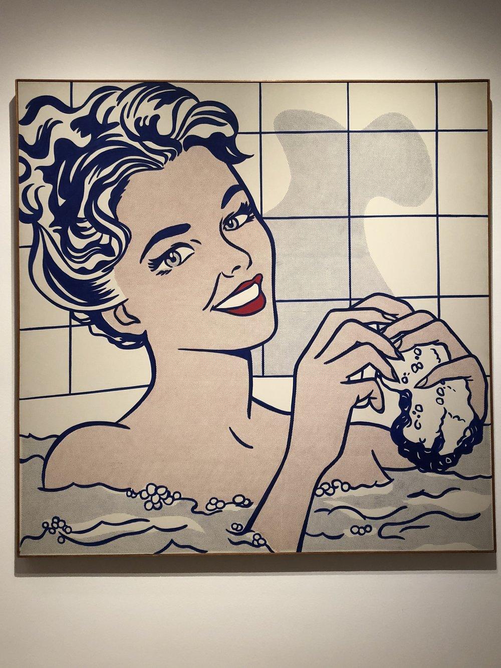 Roy Lichtenstein  Woman in Bath, 1963