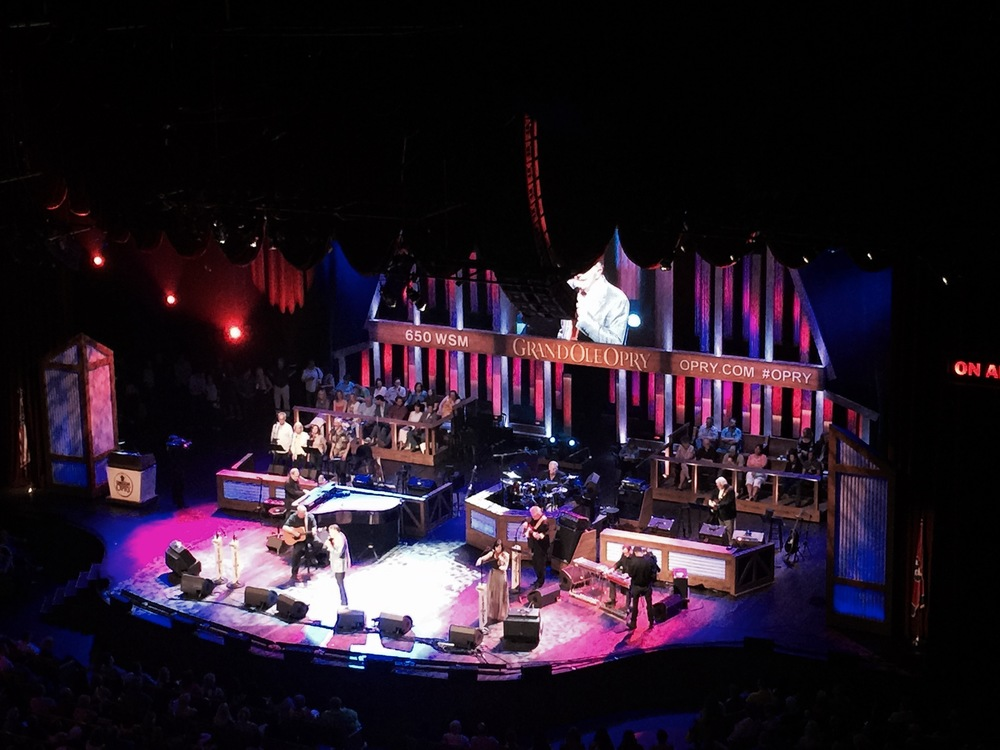 Grand Ol' Opry night with the Folks