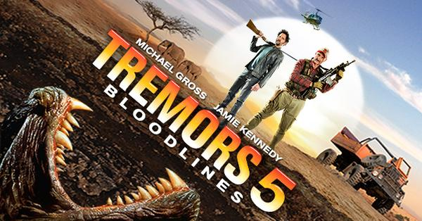 Official TREMORS 5: BLOODLINE cover art