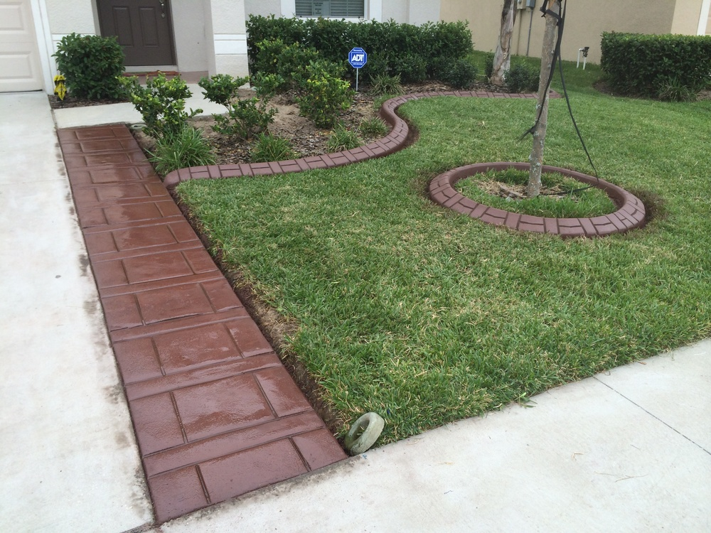 drive way liner & Basket weave pattern.JPG