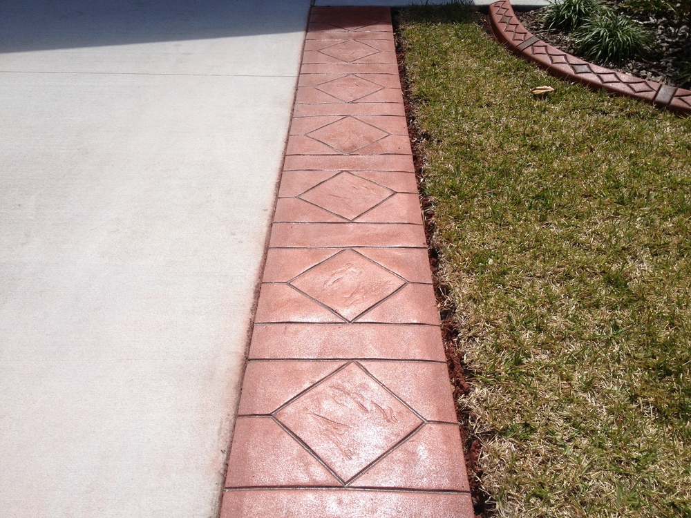 driveway liner diamond pattern 1.JPG