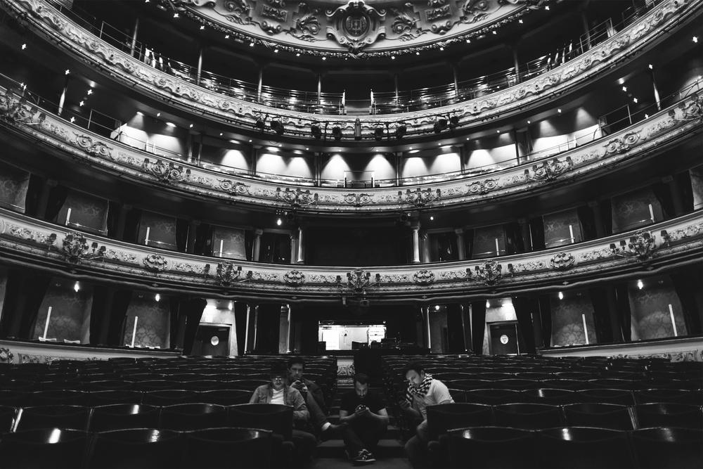 """Damien Jurado band. Ourense, ES. 2012. 18""""x12"""" mounted print $100"""