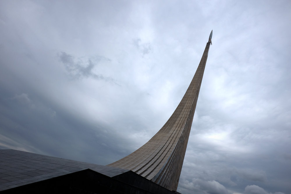 Monument to the Conquerors of Space  |  Moscow, Russia