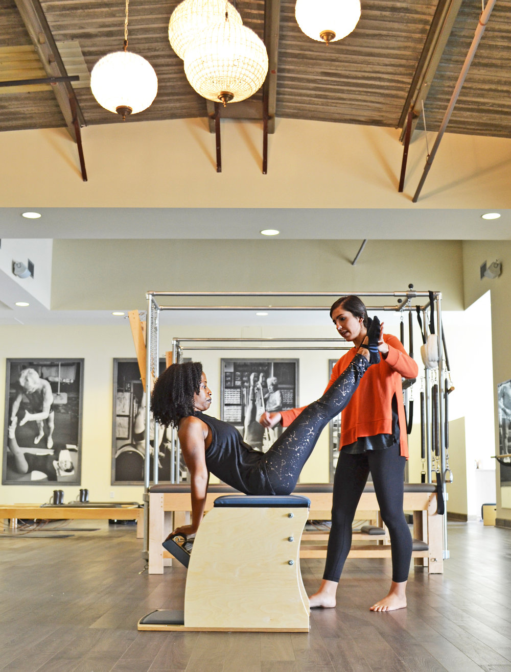 Come on into the studio. We are ready to cater your Pilates workout to you and your needs.