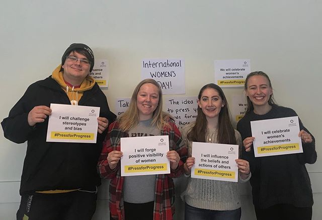 Happy International Women's Day from Grebel!! This year's theme is #pressforprogress which draws attention to the rights and activism of rural women, who are being left behind in every measure of development. Celebrate women today and everyday!🌼#grebelife #internationalwomensday