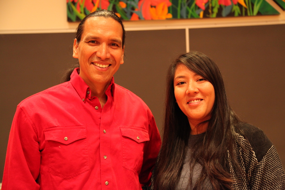 Michael Greyeyes and Candy Fox                     Photo: Shannon Avison