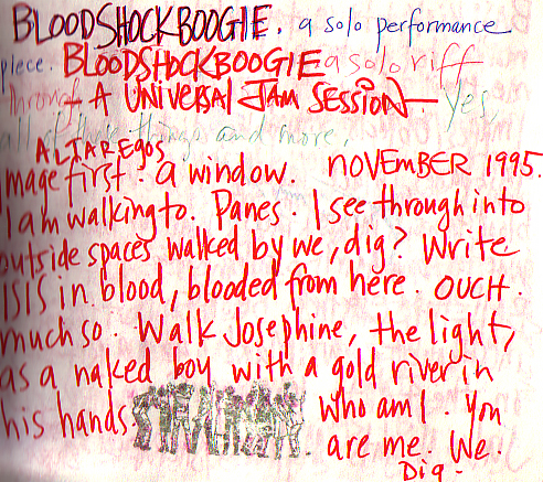 Early notes, 1995.
