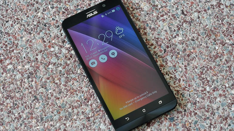 The ASUS Zenfone 2 comes with a generous 4GB of RAM.