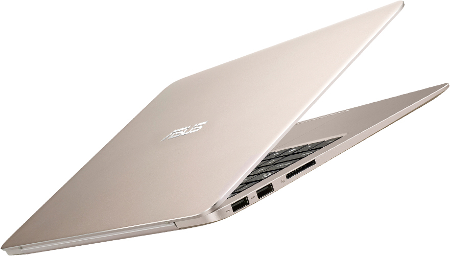 Gorgeous in Gold: The ASUS Zenbook UX305 looks great and feels even better.