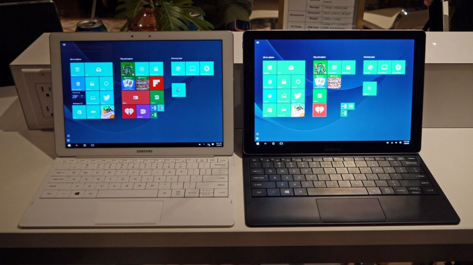 The Galaxy TabPro S is Samsung's first flagship device to utilize Windows.
