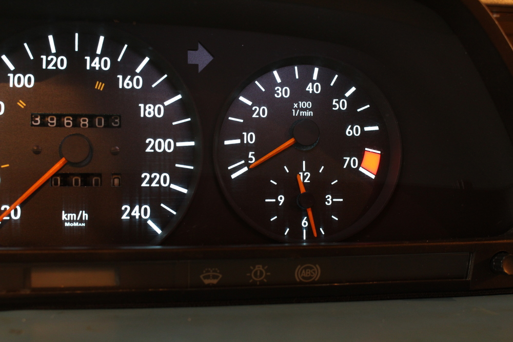 Final Photos - Tachometer/Clock