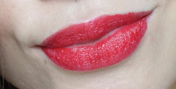 L'oreal Pure Ruby has a slight warm, orange undertone