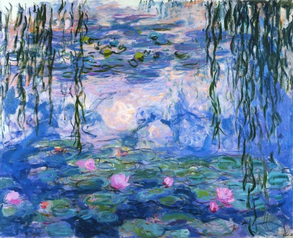 Matteo Mauro -  Water Lilies, 1919 by Claude Monet (1).jpg