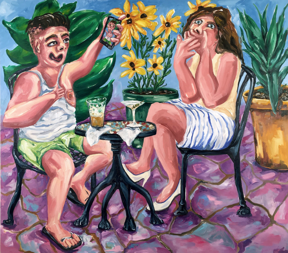 |Artist Spotlight   Joe Carrozzo   Artist and painter Joe Carrozzo creates figurative reflections of human character flaws through absurd and equally cheeky oil paintings.   read more