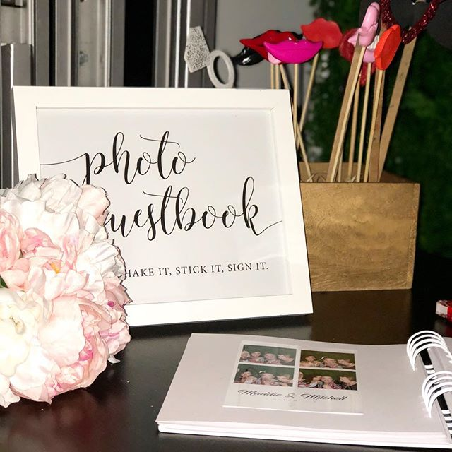Our photo booth packages come with a guest book, so that your guests can stick a copy of their snapshot and write a message 🙃