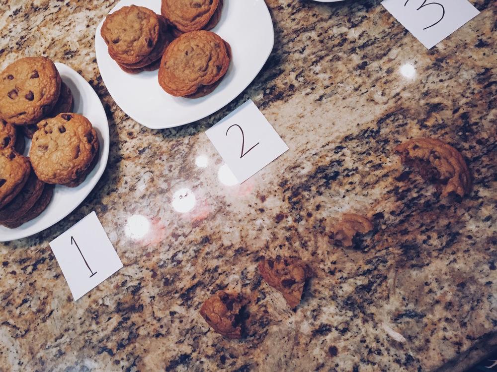 Cookie Tasting