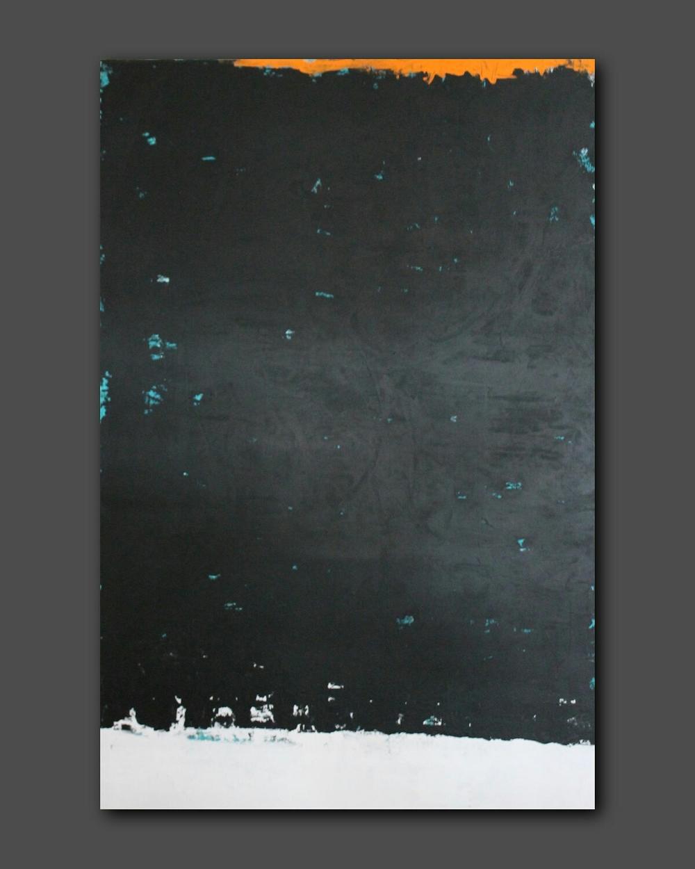 """""""Fervent"""" 48""""x72""""x1.5"""" Acrylic on Canvas"""