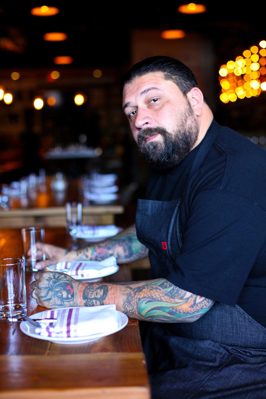 Chef Jeffrey Boullt of Social in Costa Mesa, California