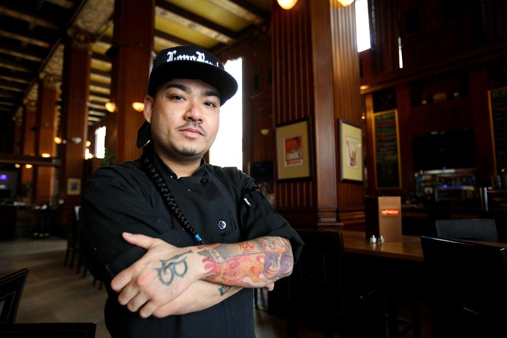 Chef T of Federal Bar in Long Beach, California