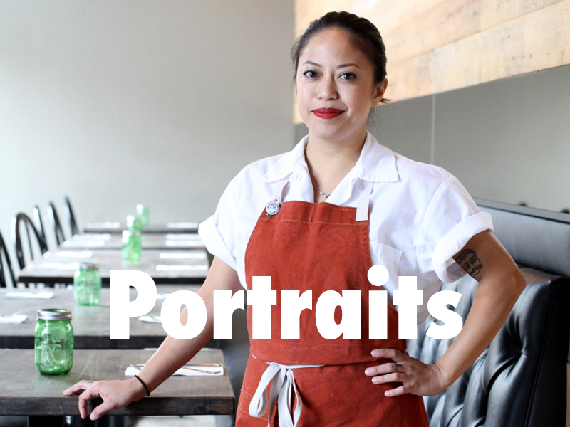 Pastry chef, Ashley Guzman, of North Left in Santa Ana.