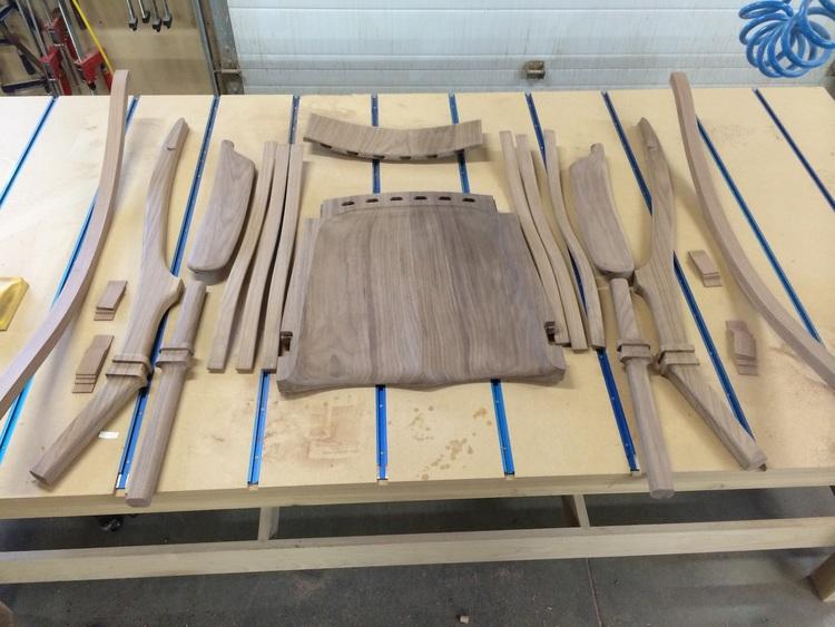 Making A Rocking Chair The Cherryleaf Rustle