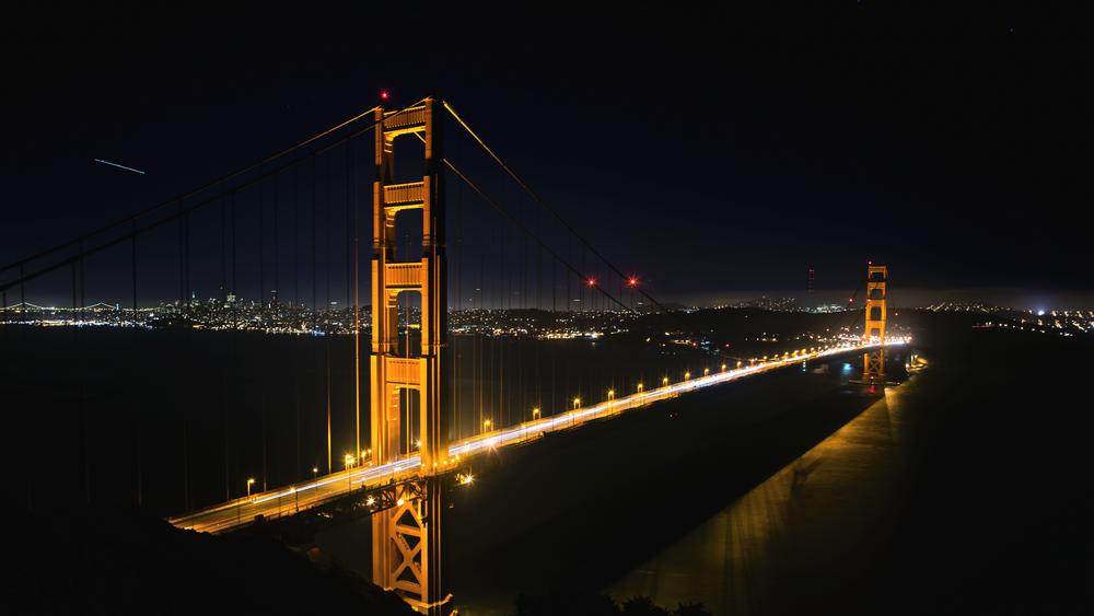 Time-lapse of San Francisco's Golden Gate Bridge.