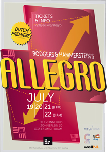 Allegro  poster  and  postcard .