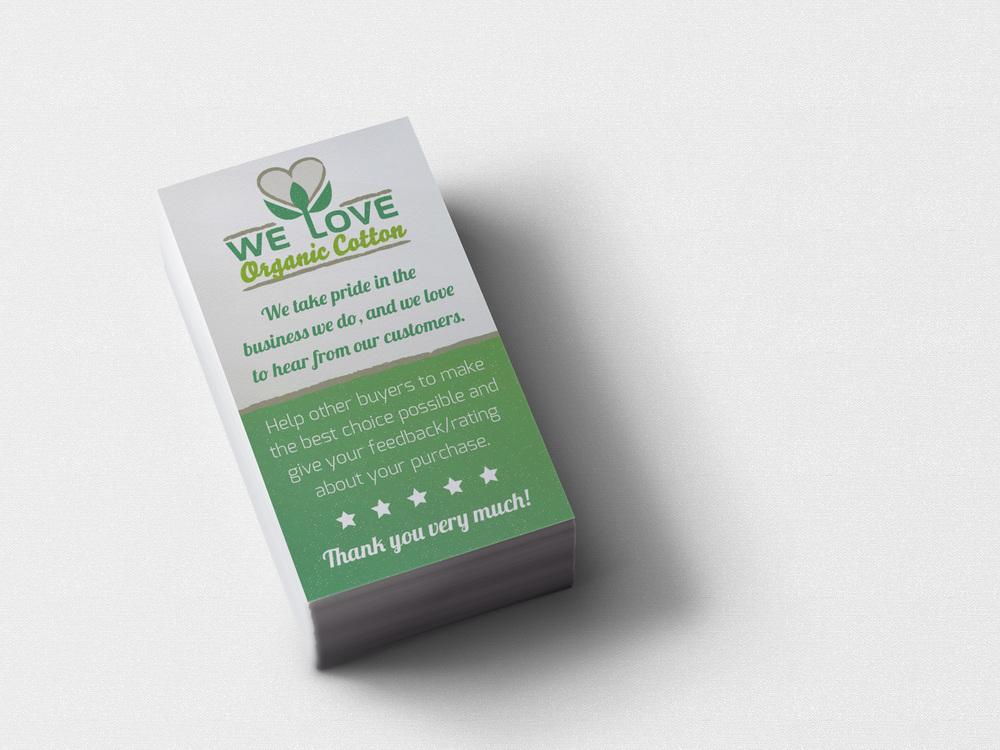 We Love Organic Cotton Logo