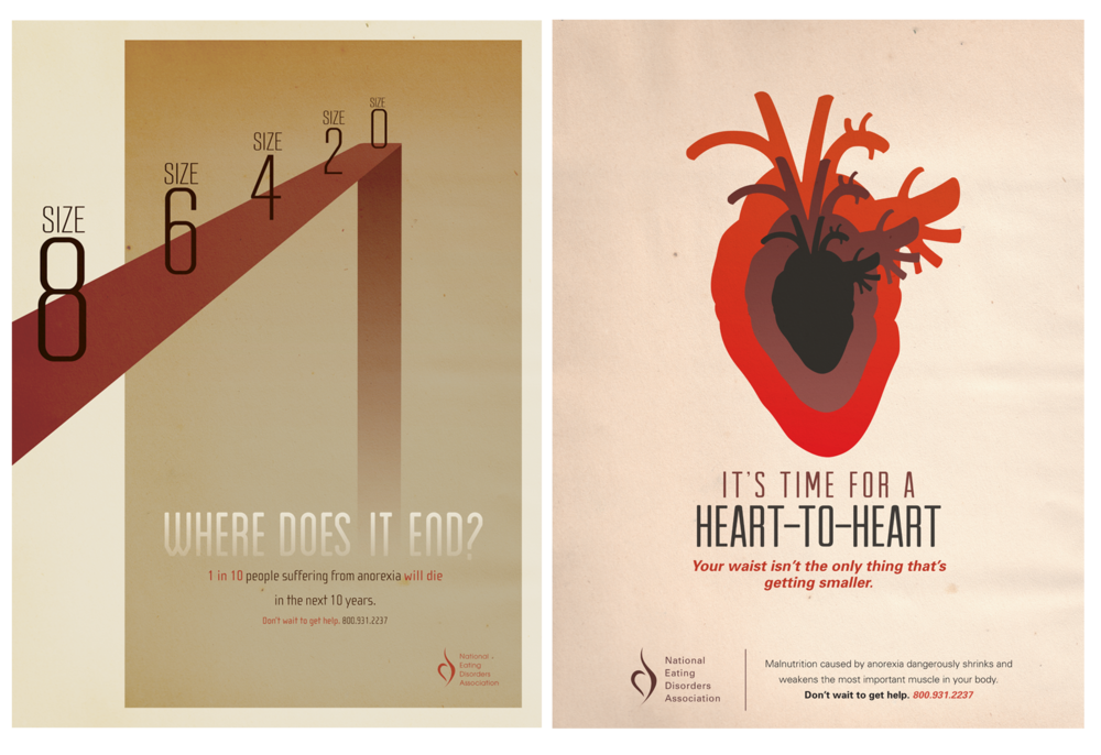 Eating Disorder Awareness Poster Set