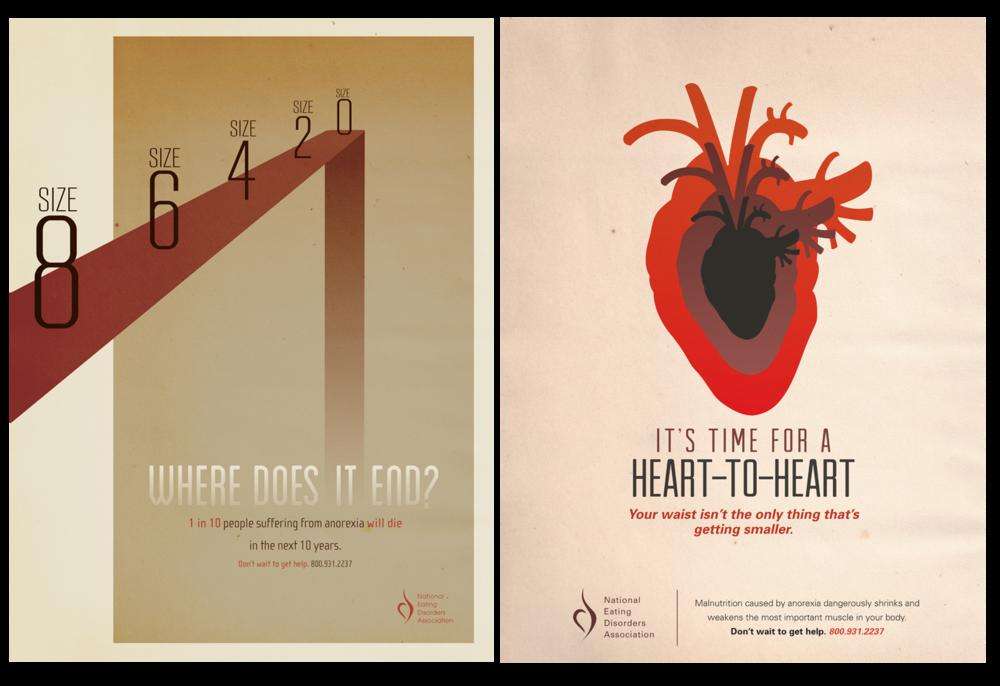 Eating Disorder Awareness Poster Set