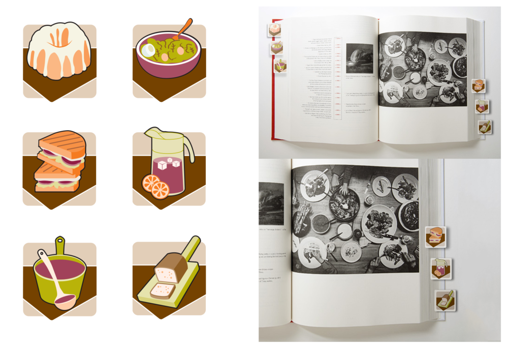 Recipe Book Icons