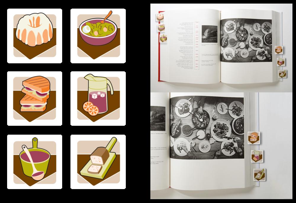 Recipe Book Icons