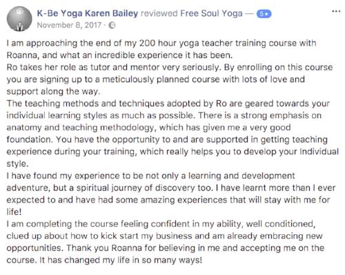 yoga teacher training essex wales