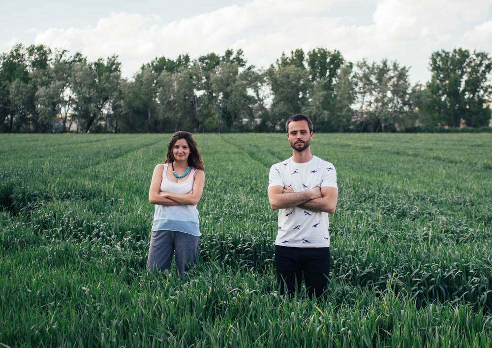 Benjamin van Gelder & Miriam Martín Price (Founders of Cooks in town)
