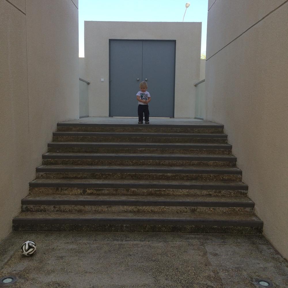 I ulubione schody Bruna
