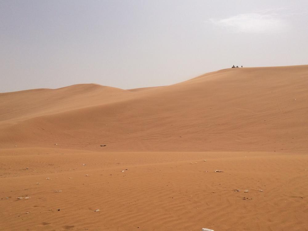 Tak wygląda quad na wydmie ;-)