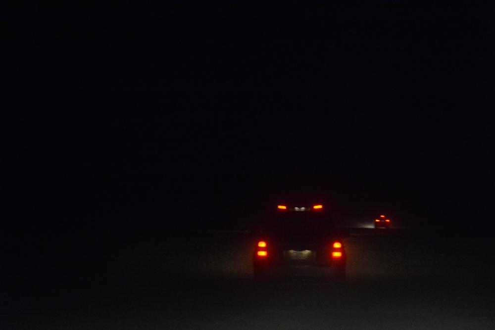 Tak wyglądała jazda po szutrze